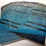 Digitalna štampa cenovnika Fruškogorska 14 Novi Sad ABC studio